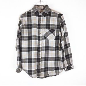 Current/Elliot black and gray flannel size 1